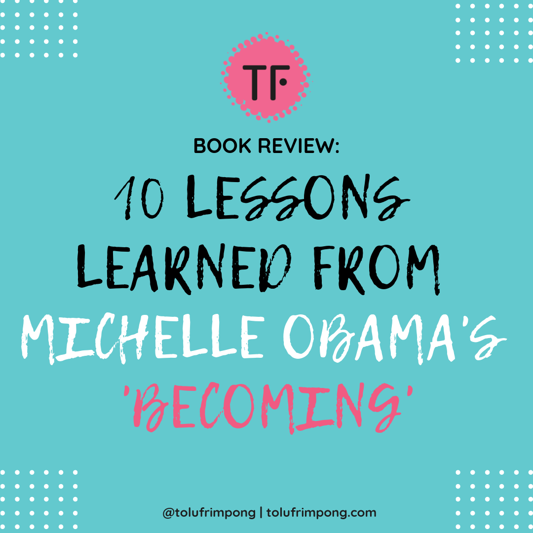 Book Review Michelle Obama Becoming