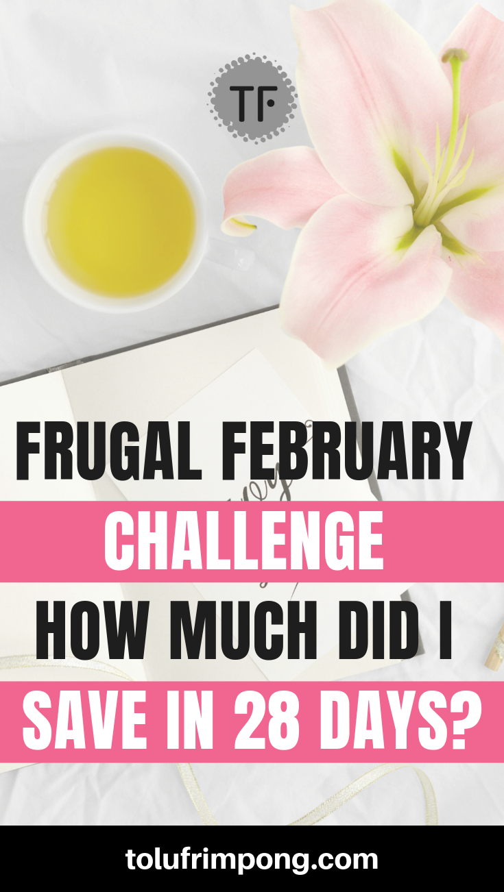 Frugal February Challenge Results