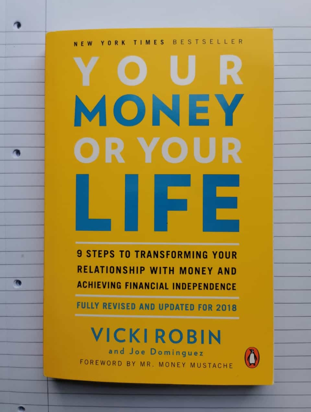 Book review - your money or your life by Vicki Robin