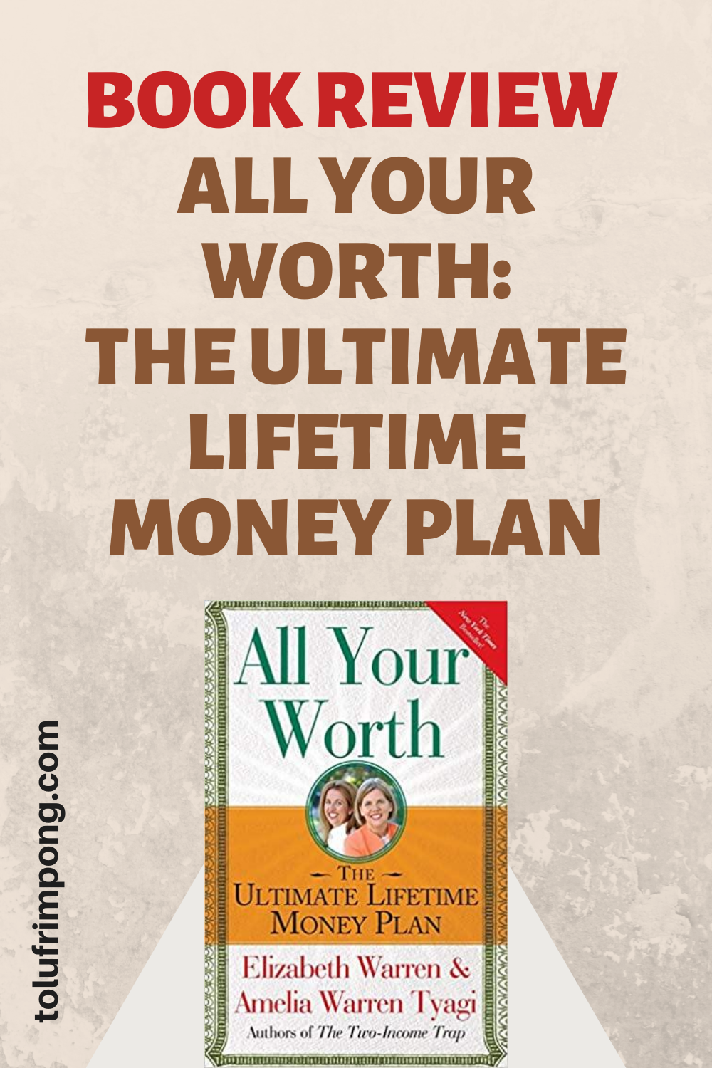 BOOK REIVEW - ALL YOUR WORTH