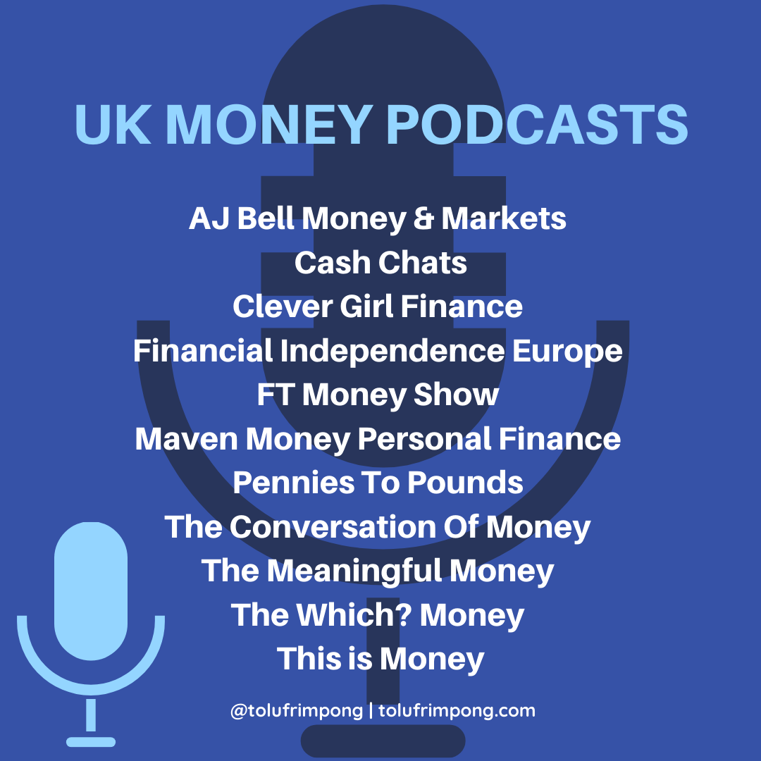 30 of the best money podcasts by tolu frimpong (2)