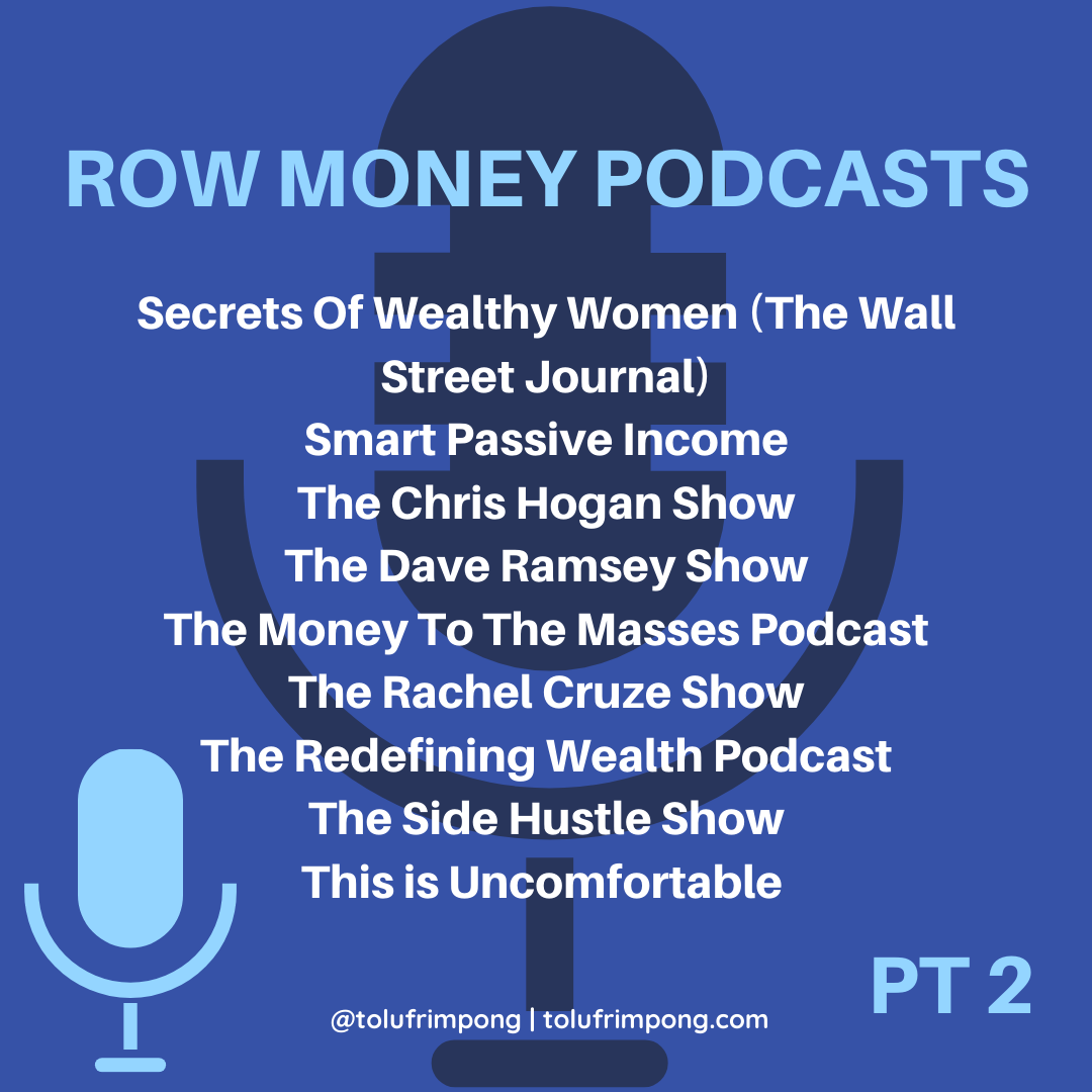 30 of the best money podcasts by tolu frimpong (4)