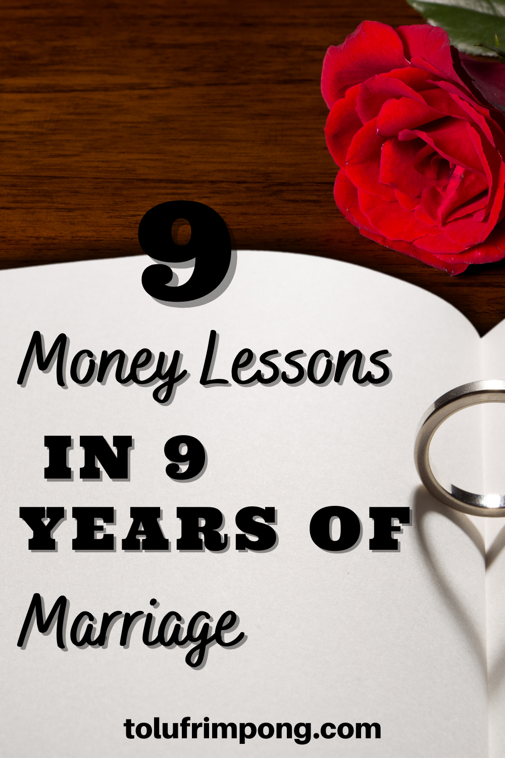 9 money lessons in 9 years of marriage
