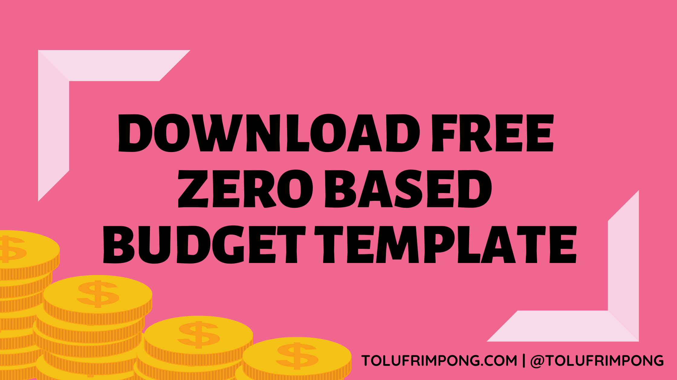 DOWNLOAD FREE ZERO BASED BUDGET TEMPLATE