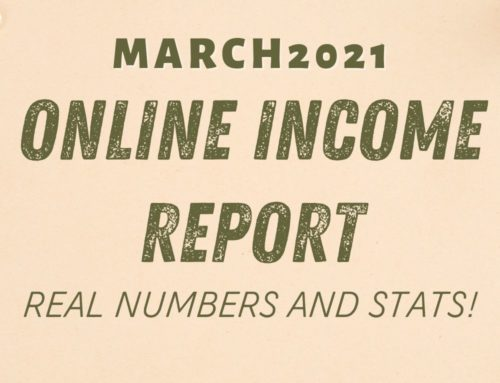 March 2021 Online Income Report