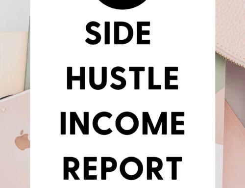 April 2021 Side Hustle Income Report