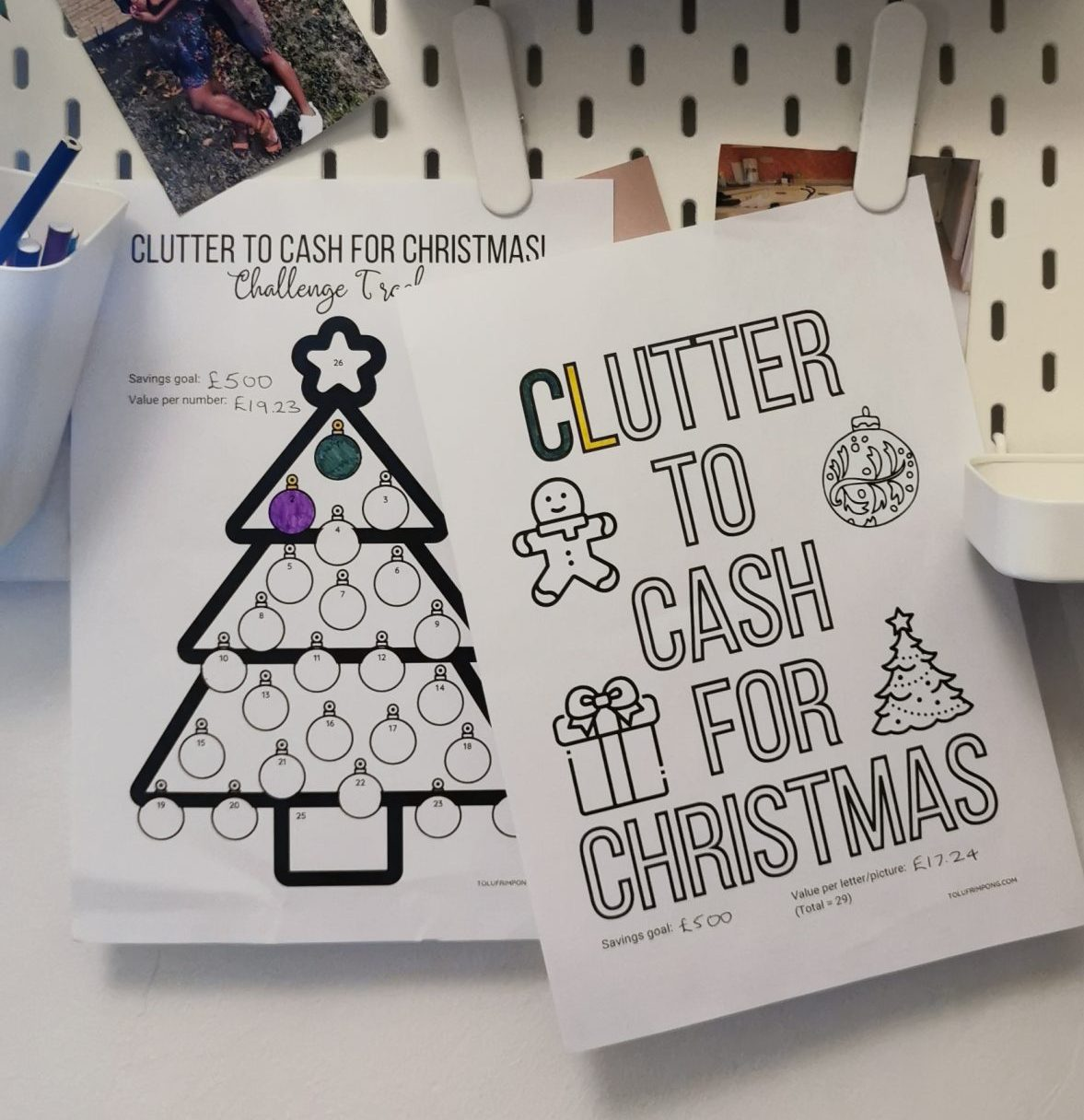 Clutter to cash for Christmas Challenge